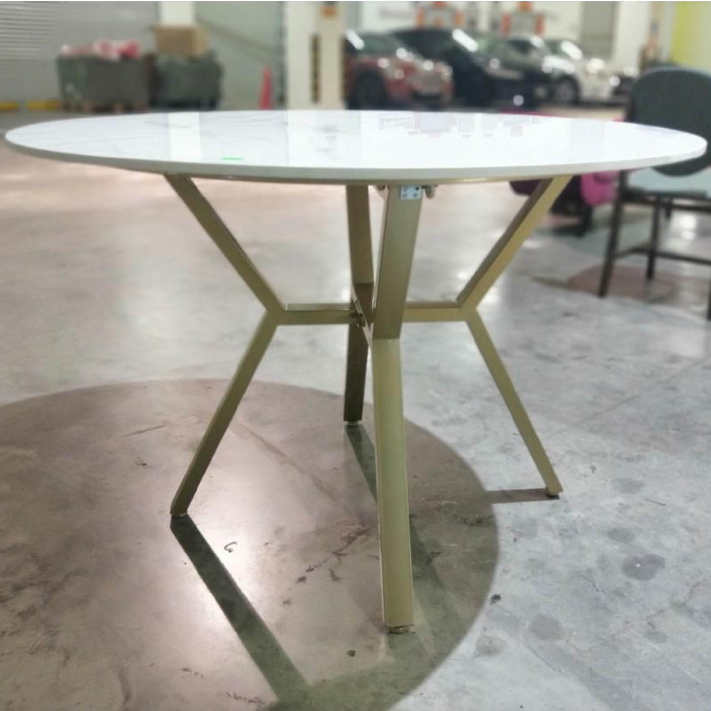 KLARA Contemporary Marble Dining Table Large