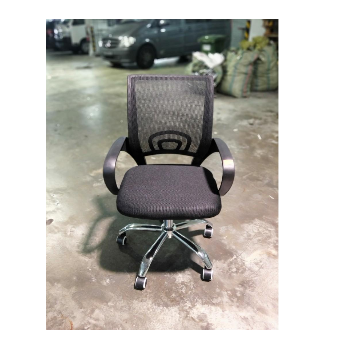 RAINEY Office Chair in BLACK