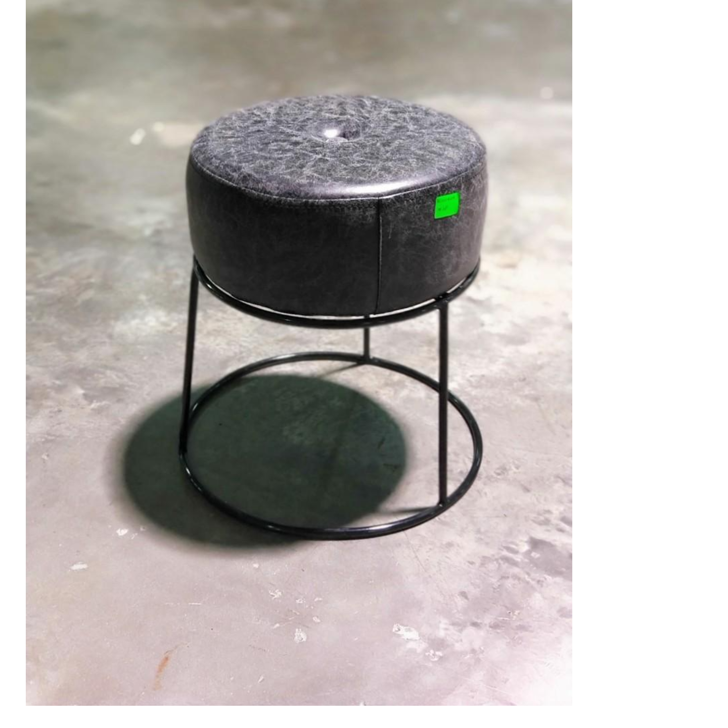 CHESSO II Stool Black