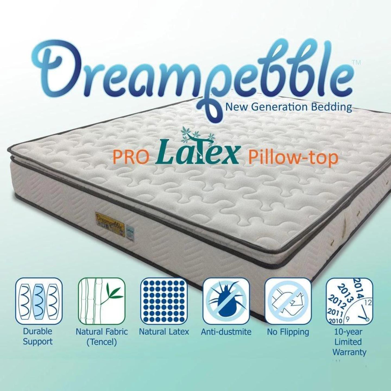 DREAMPEBBLE PRO LATEX KING Size Mattress