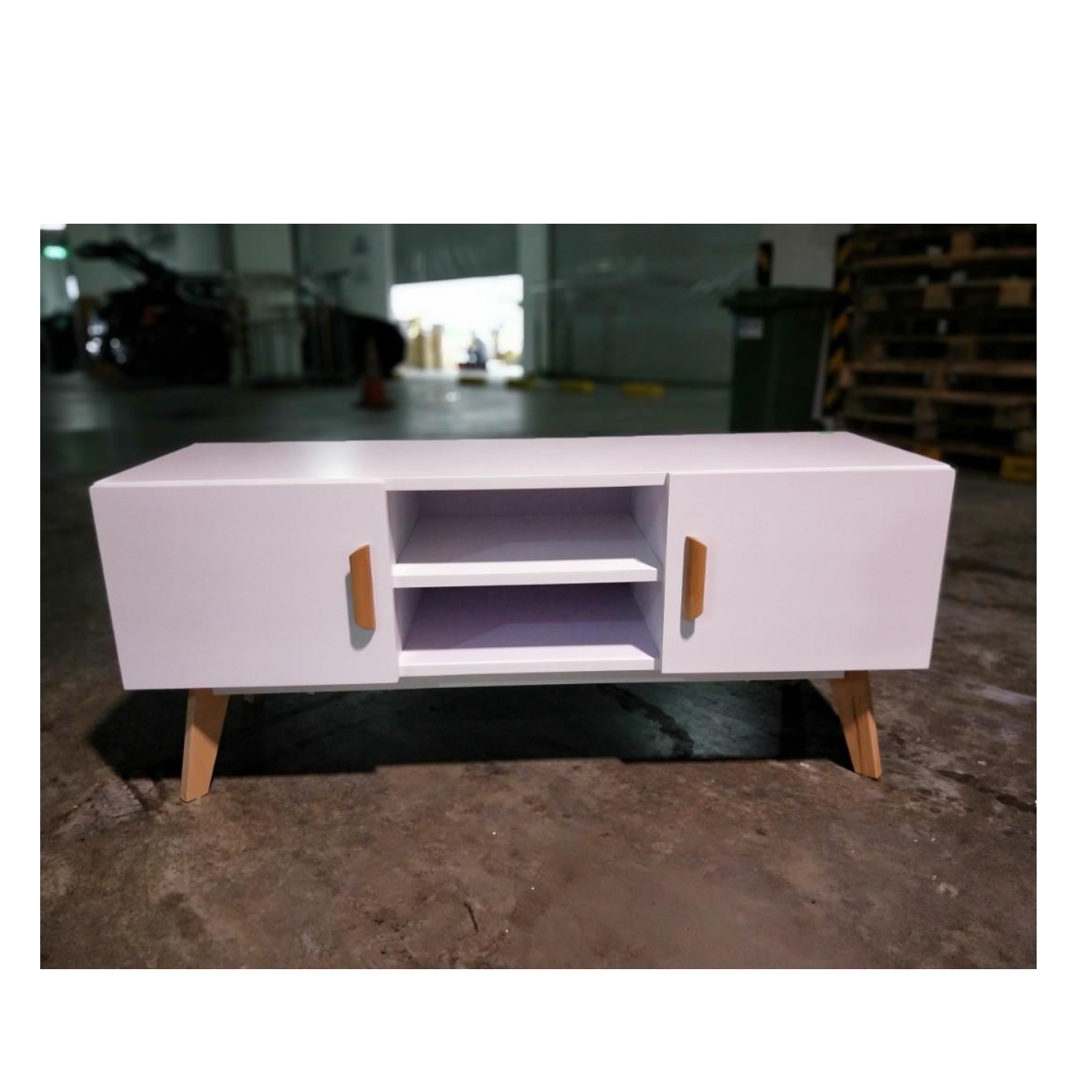 TAIKA TV Console in WHITE
