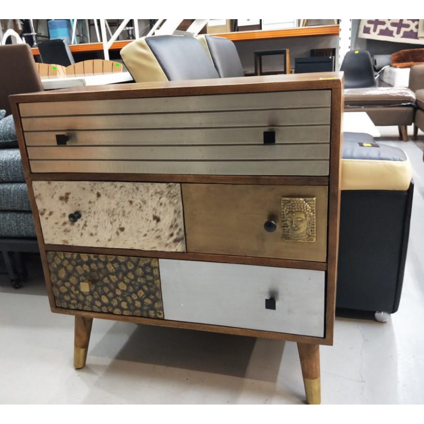 KEATON INDUSTRI Series Chest of Drawers