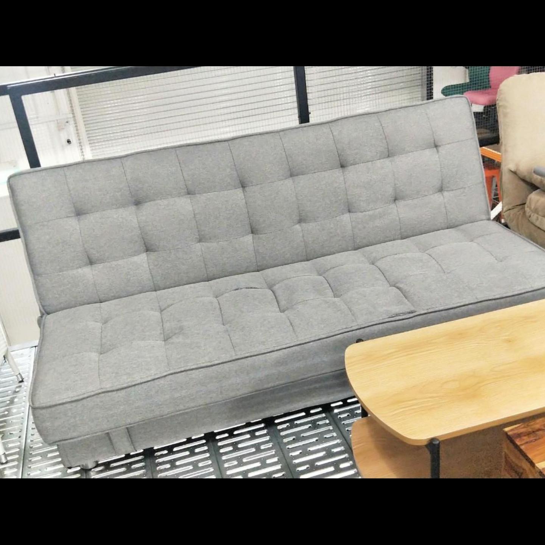 SCHINDLER Storage Sofa Bed in GREY BAD DEFECT