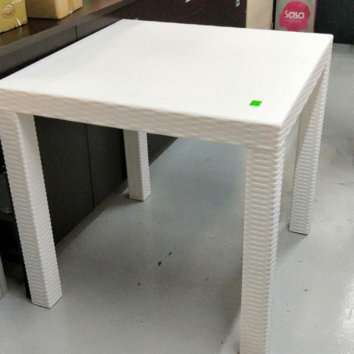 LORRAINE REG Outdoor Dining Table WHITE