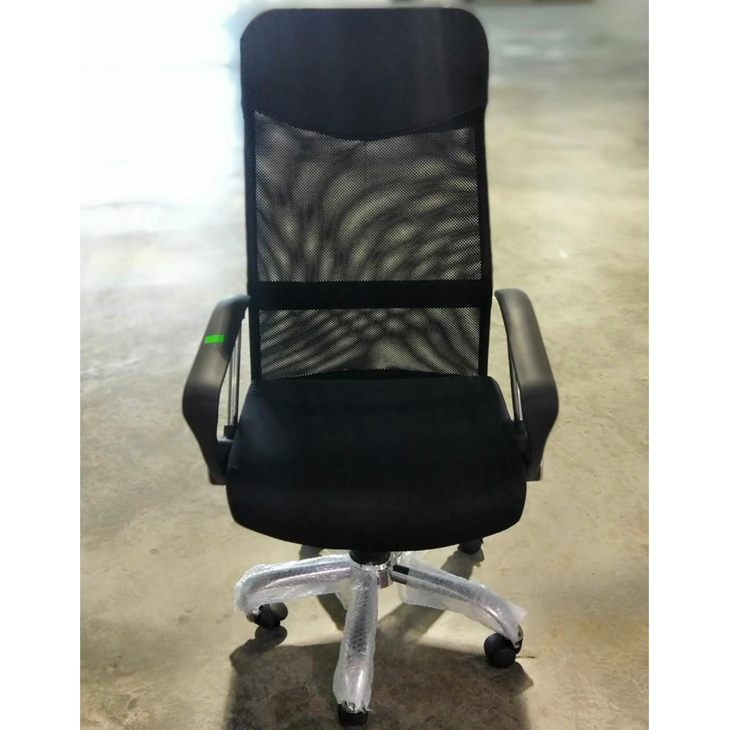 KUBA HB Mesh Office Chair in BLACK