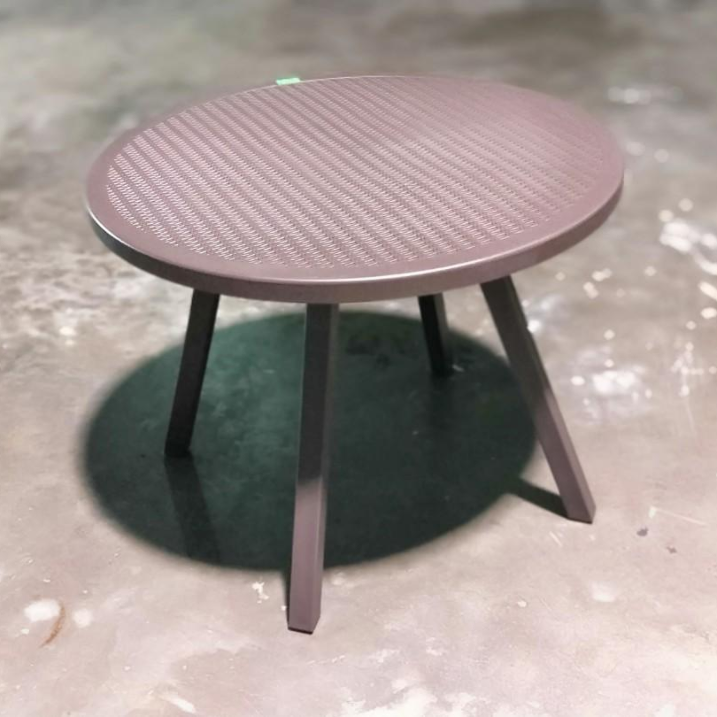 LYNETTE Table in Coffee Color