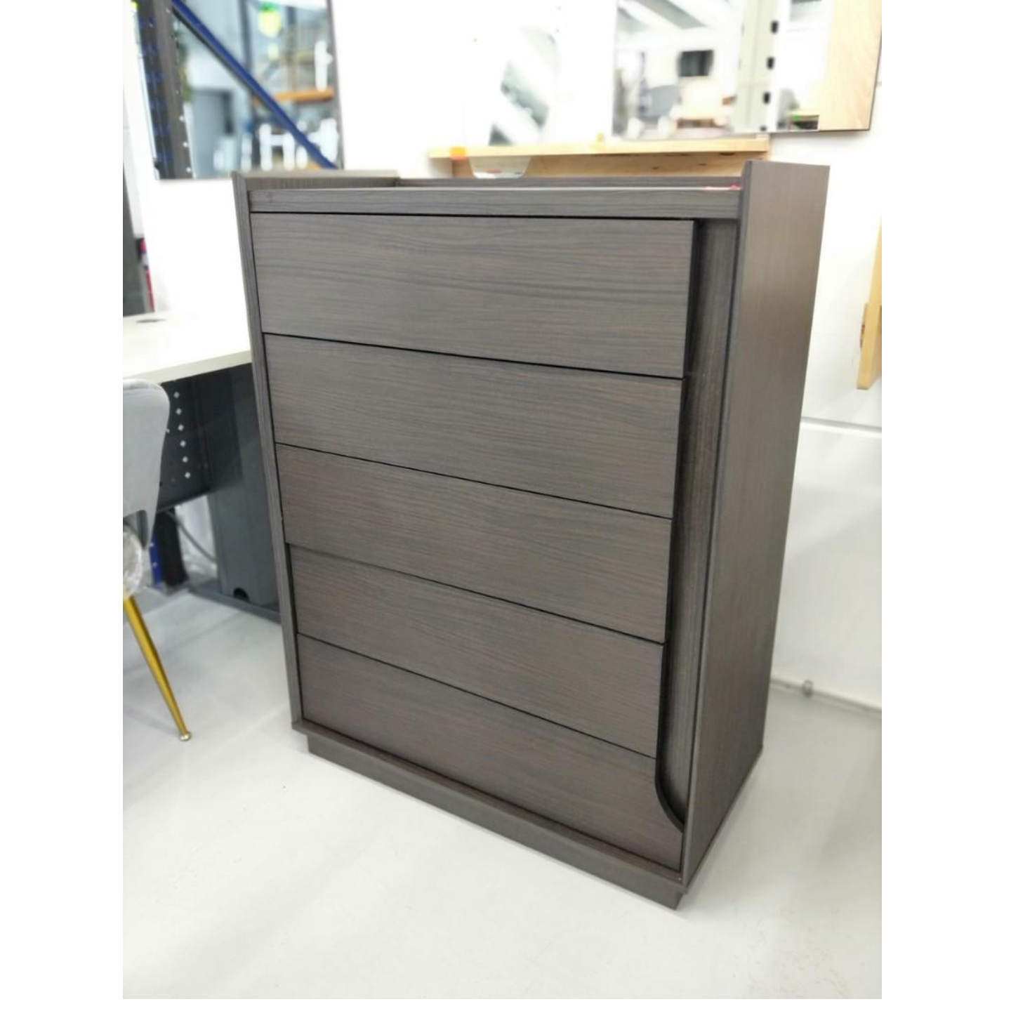 ASHBURN Chest of Drawers in WENGE