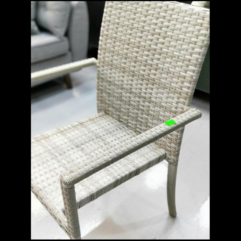 HONOLULU Outdoor Dining Chair in CREAM