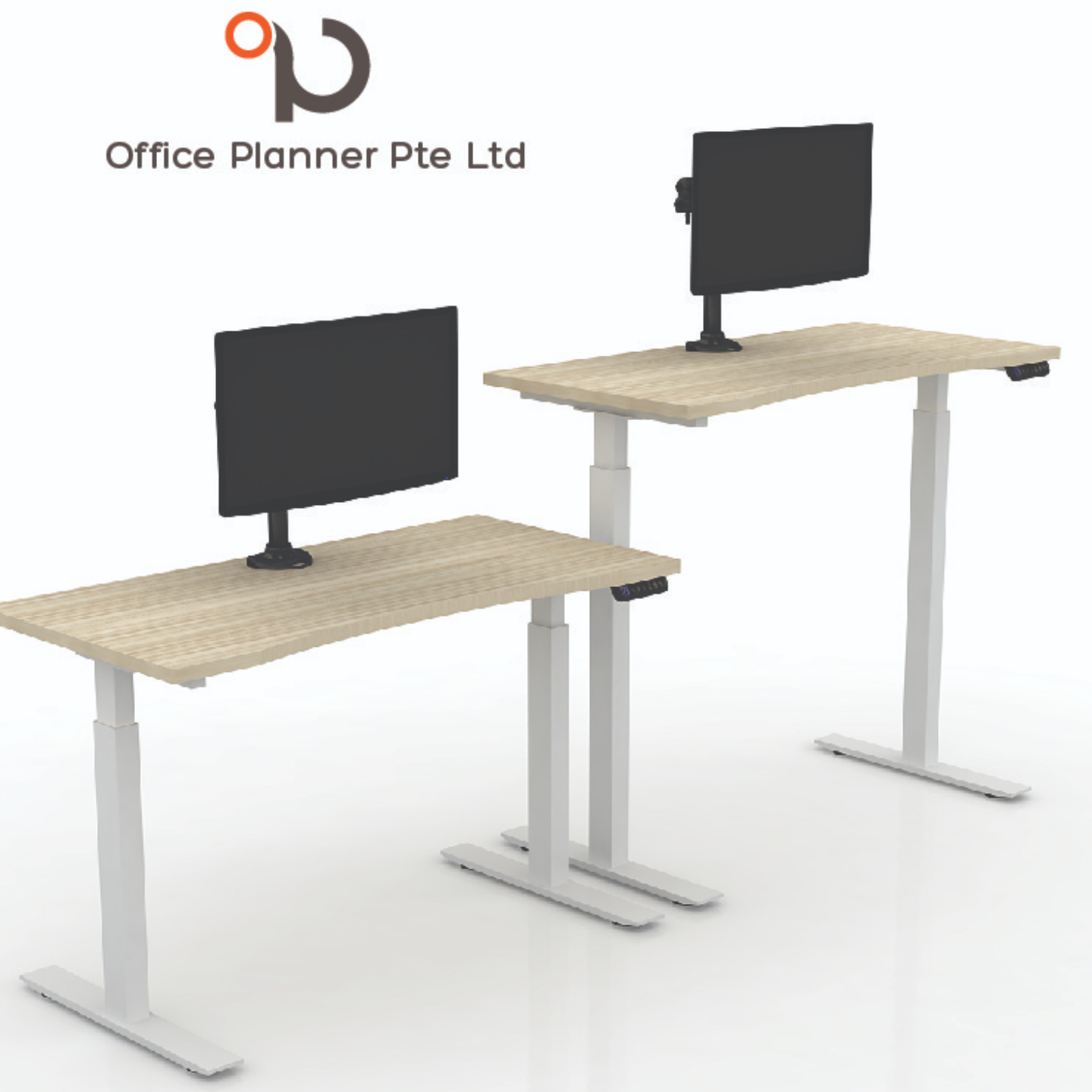 HEIGHT ADJUSTABLE DESKING SYSTEM