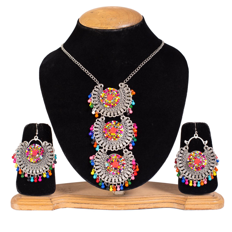 FAZZN Necklace & Earrings Combo - 4