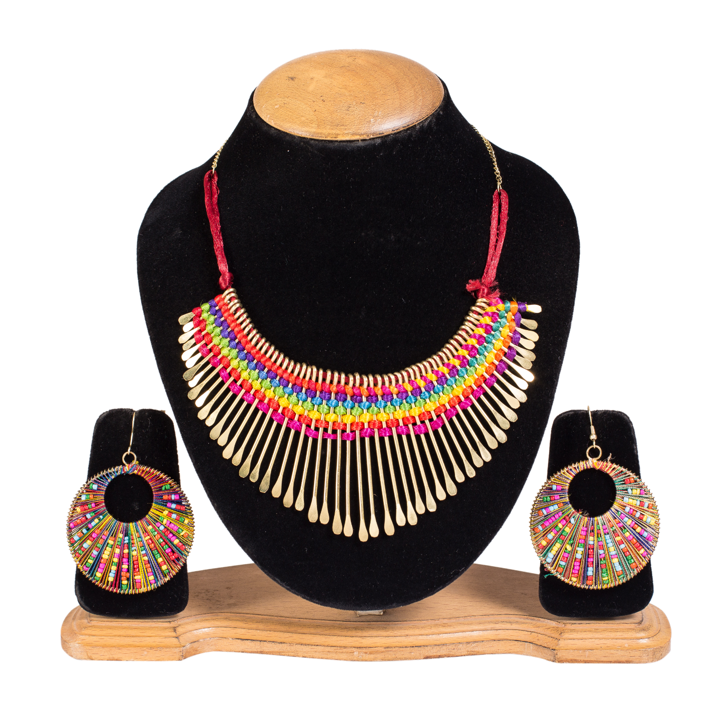 FAZZN Necklace & Earrings Combo - 1