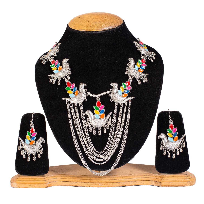 FAZZN Necklace & Earrings Combo - 5