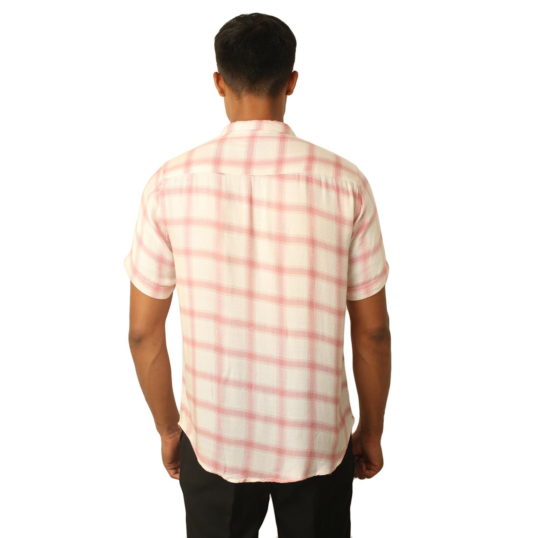 Destello Pink Plaids Shirt