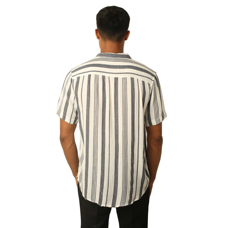 Destello Elephant Grey Stripes Shirt