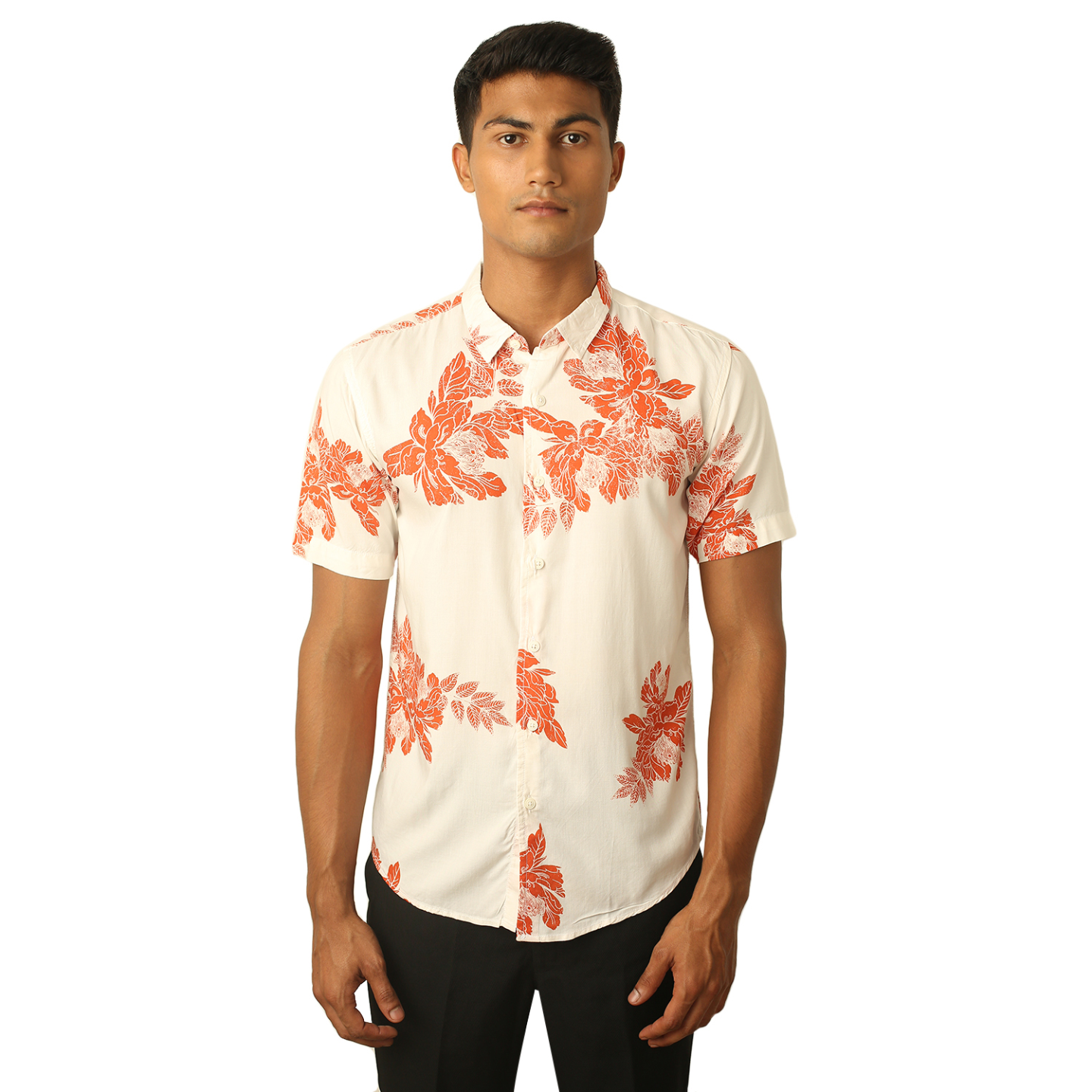 Destello Blossoms Print Shirt