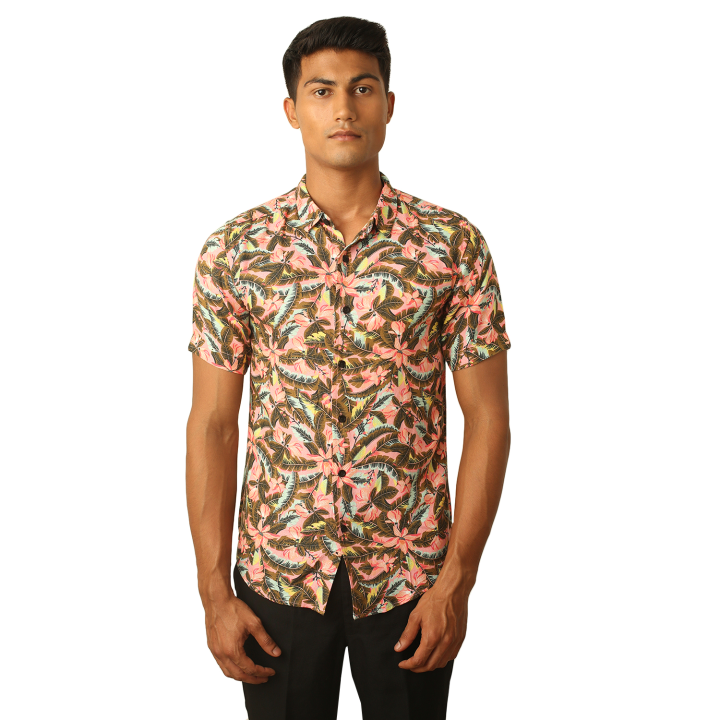 Destello Miami Beach Print Shirt