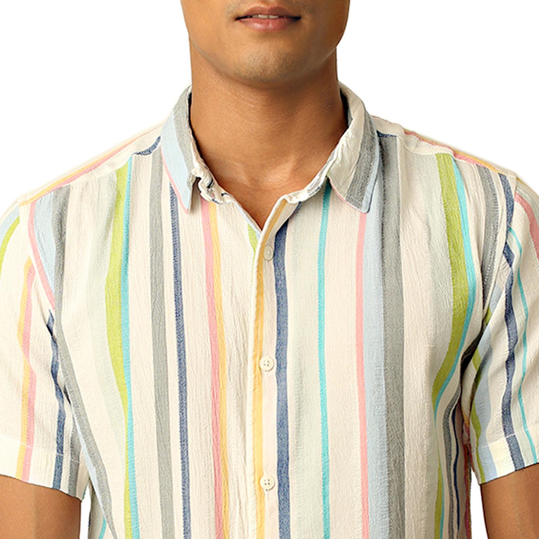 Destello Color Bar Shirt