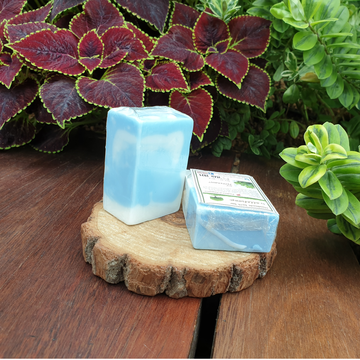 ICY PEPPERMINT HAND SOAP - set of 2 pcs