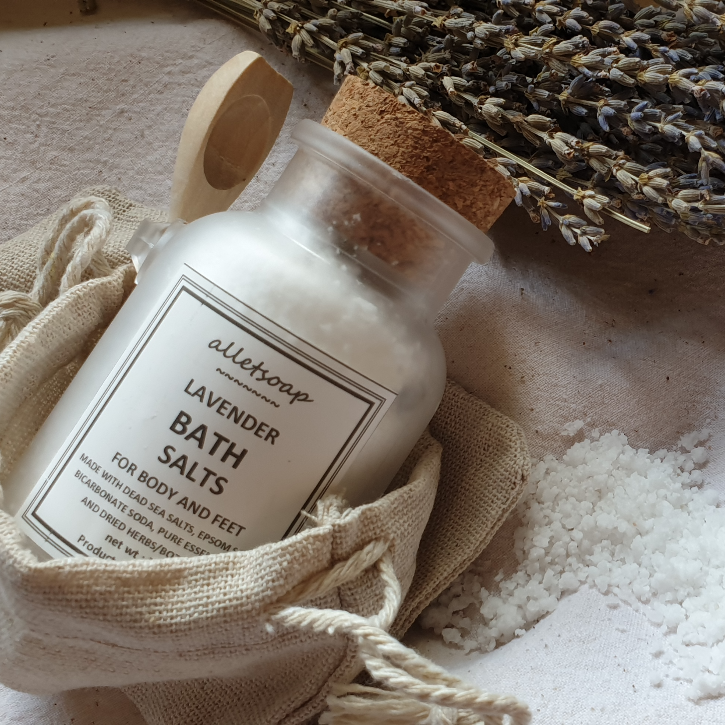 Bath Salts Lavender (70g)