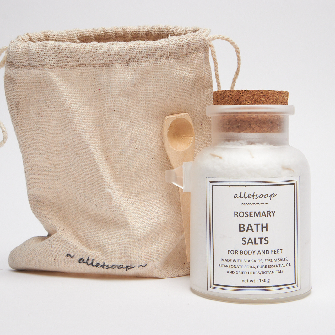 Bath Salts Rosemary 150g