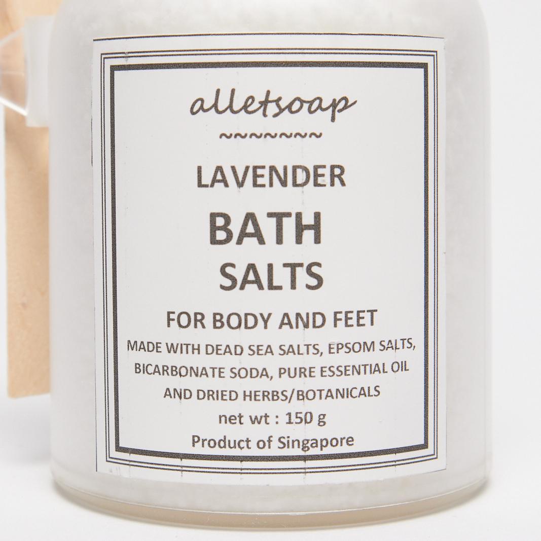 Bath Salts Lavender 150g