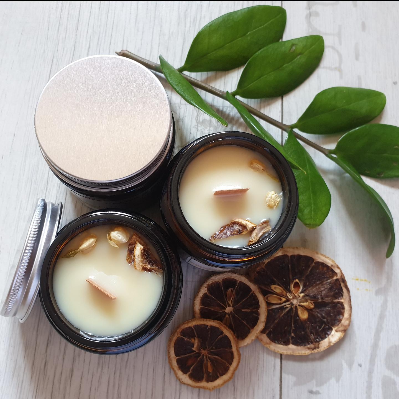 Soy Candle - Orange Jasmine 3.5 oz