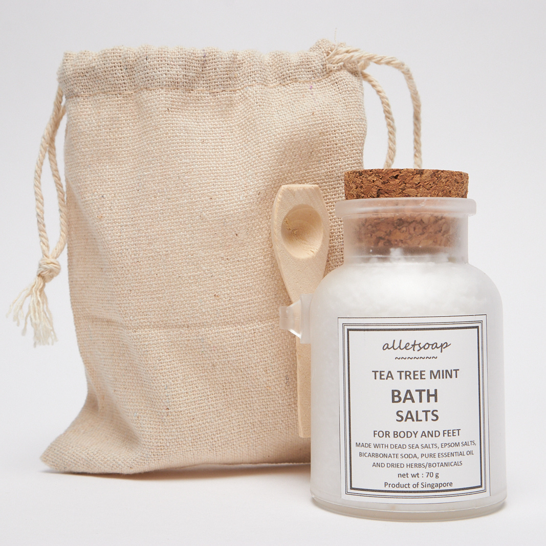 Bath Salts Tea Tree Mint 70g