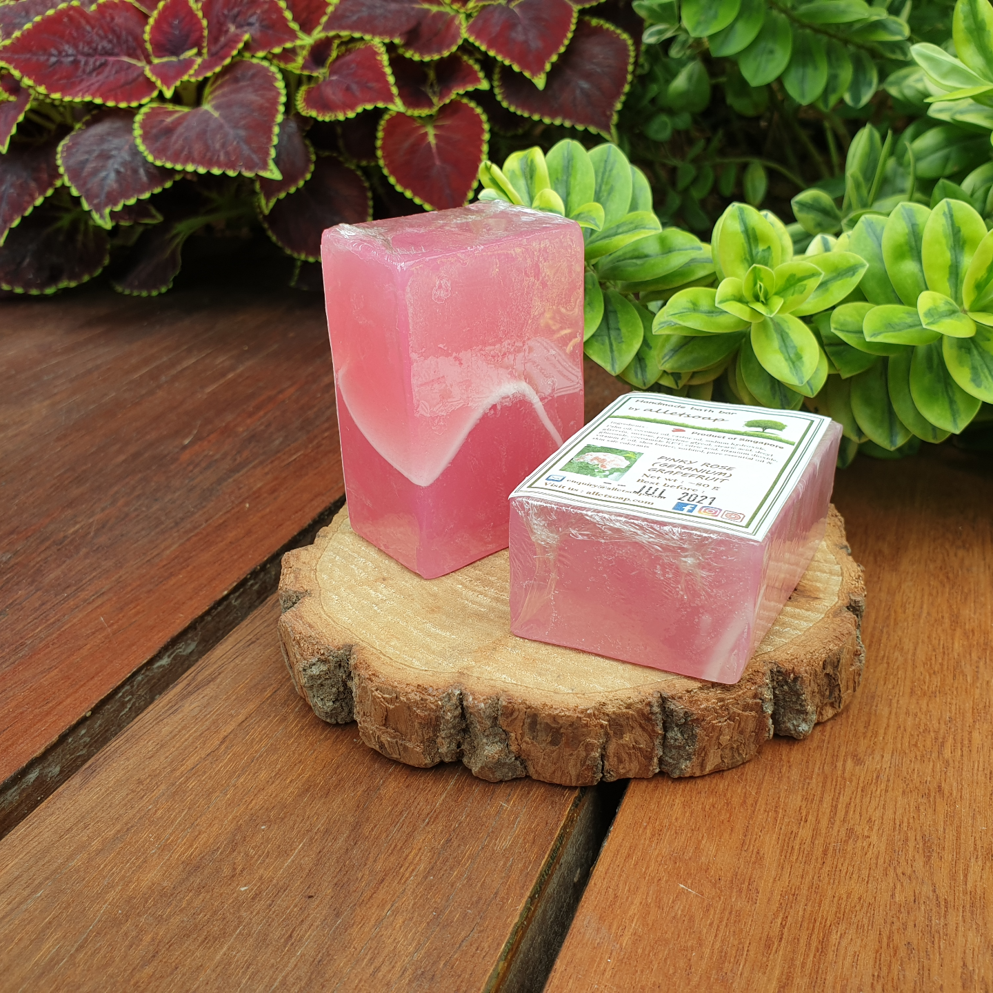 PINKY ROSE GRAPEFRUITTY (HAND SOAP)