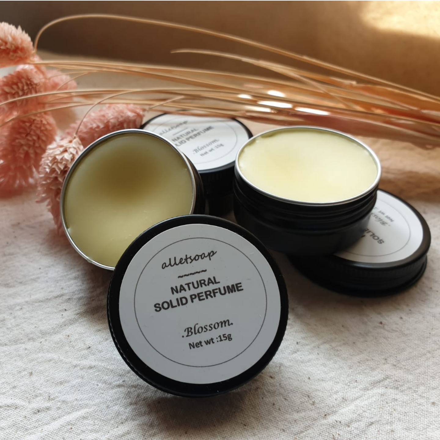 Natural Solid Perfume - Blossom