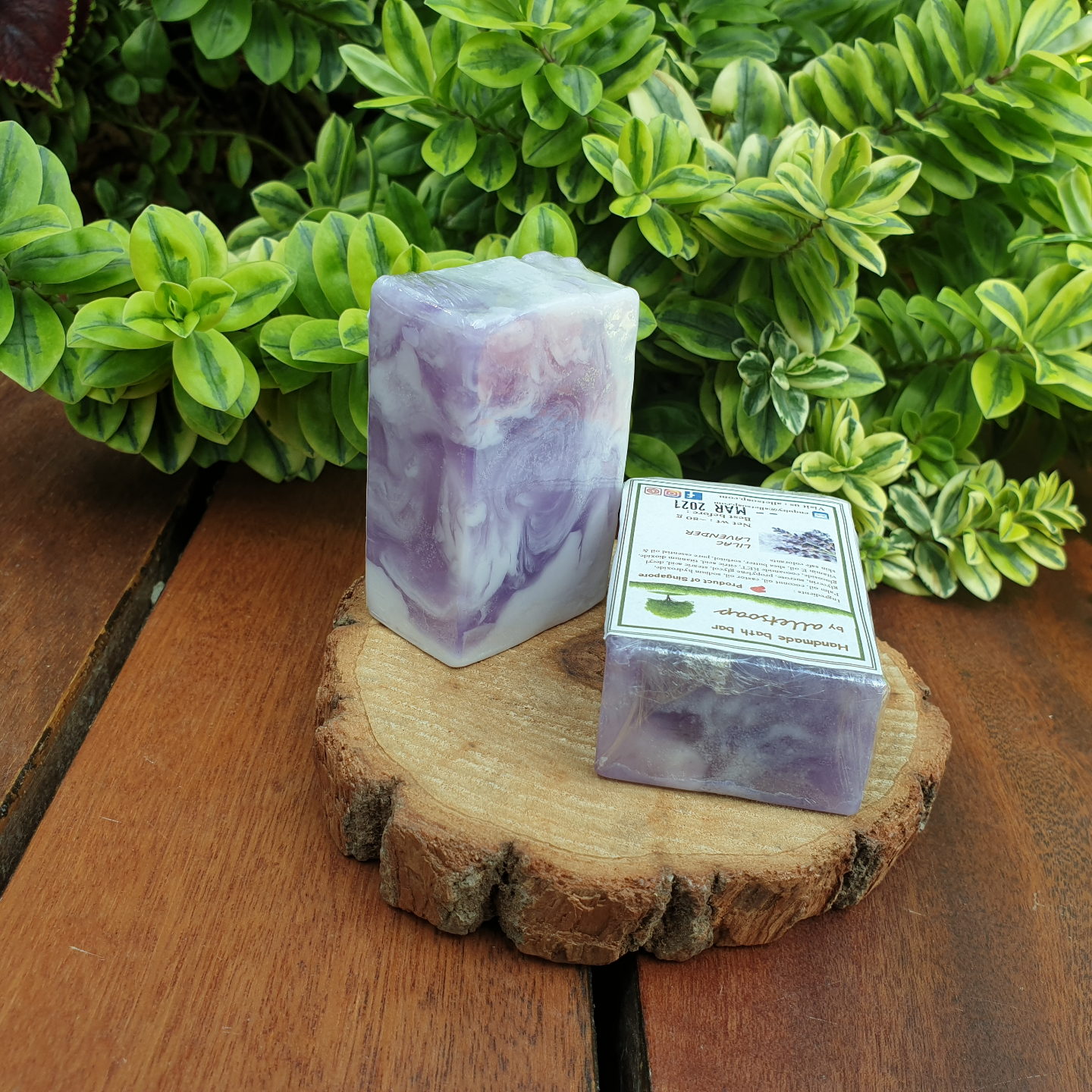 LILAC LAVENDER (HAND SOAP - set of 2 pcs