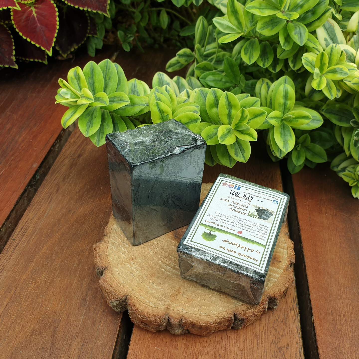BAMBOO CHARCOAL TEATREE MINT (HAND SOAP)