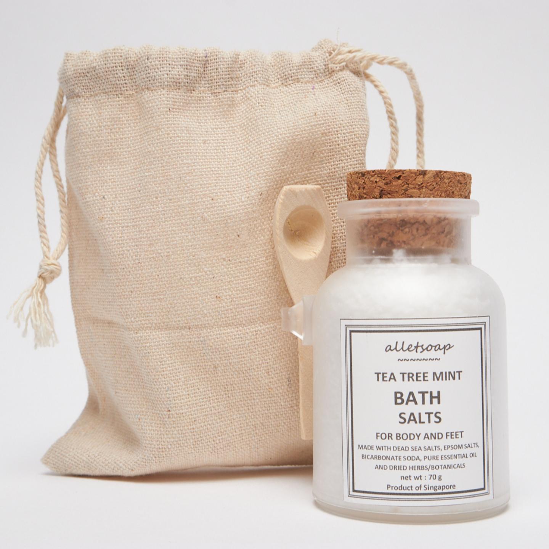 Bath Salts Tea Tree Mint (70g)