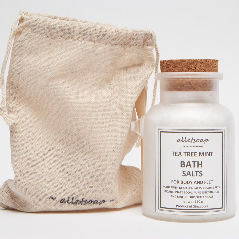 Bath Salts Tea Tree Mint (150g)