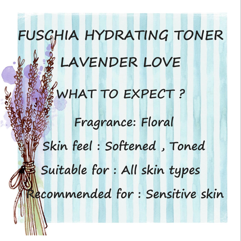 Fuschia Makeup Remover & Facial Toner Combo - 50ml