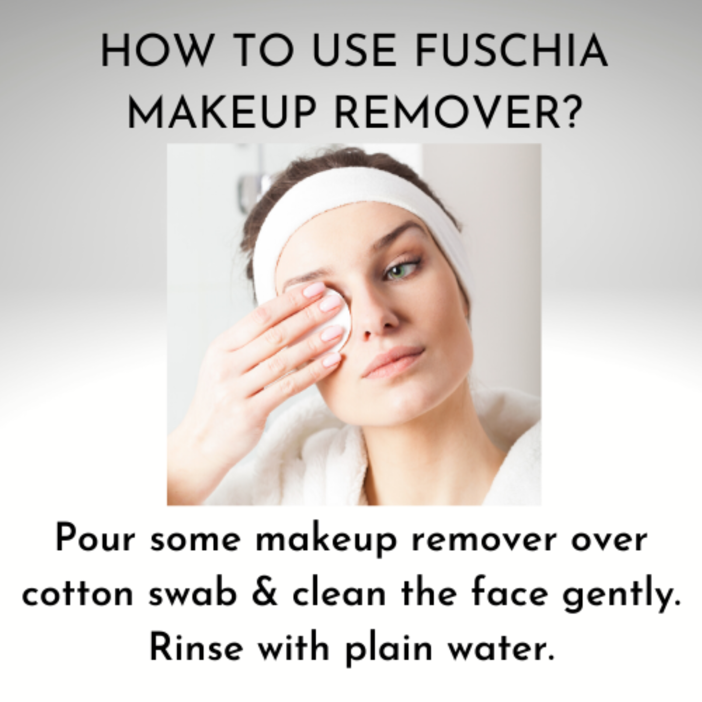 Fuschia Make-up Remover - Citrus Blast - 100 ml