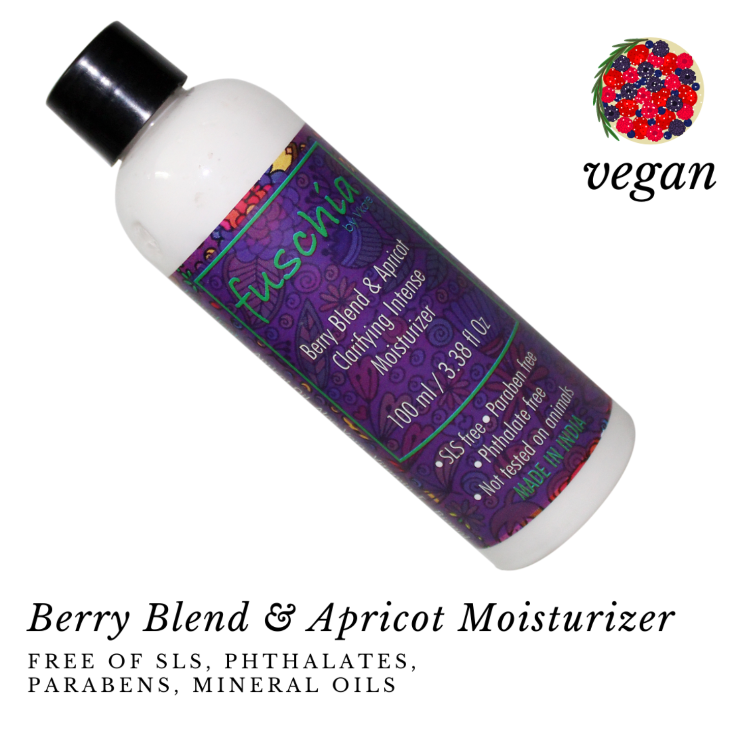 Fuschia Berry Blend & Apricot Clarifying Intense Moisturizer - 100 ml