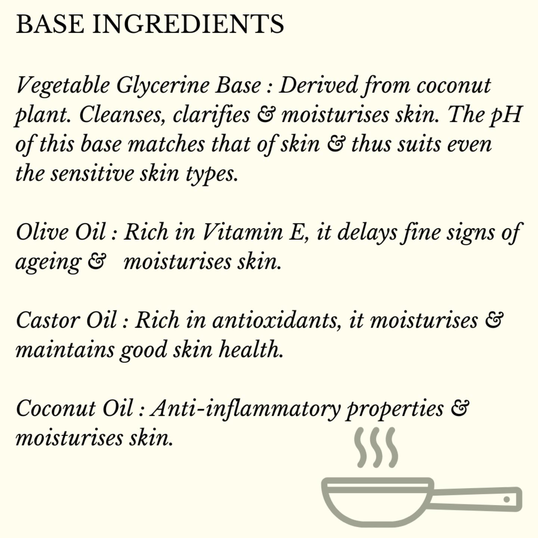 Fuschia - Lemon Grass Oil Natural Handmade Herbal Soap