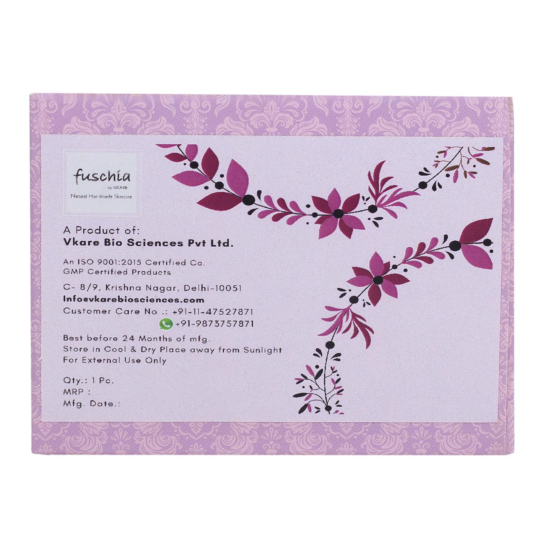 Fuschia - Almond Oil Scrub Natural Handmade Herbal Soap
