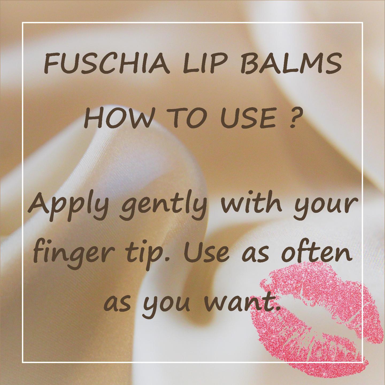Fuschia  Strawberry Passion Lip Balm