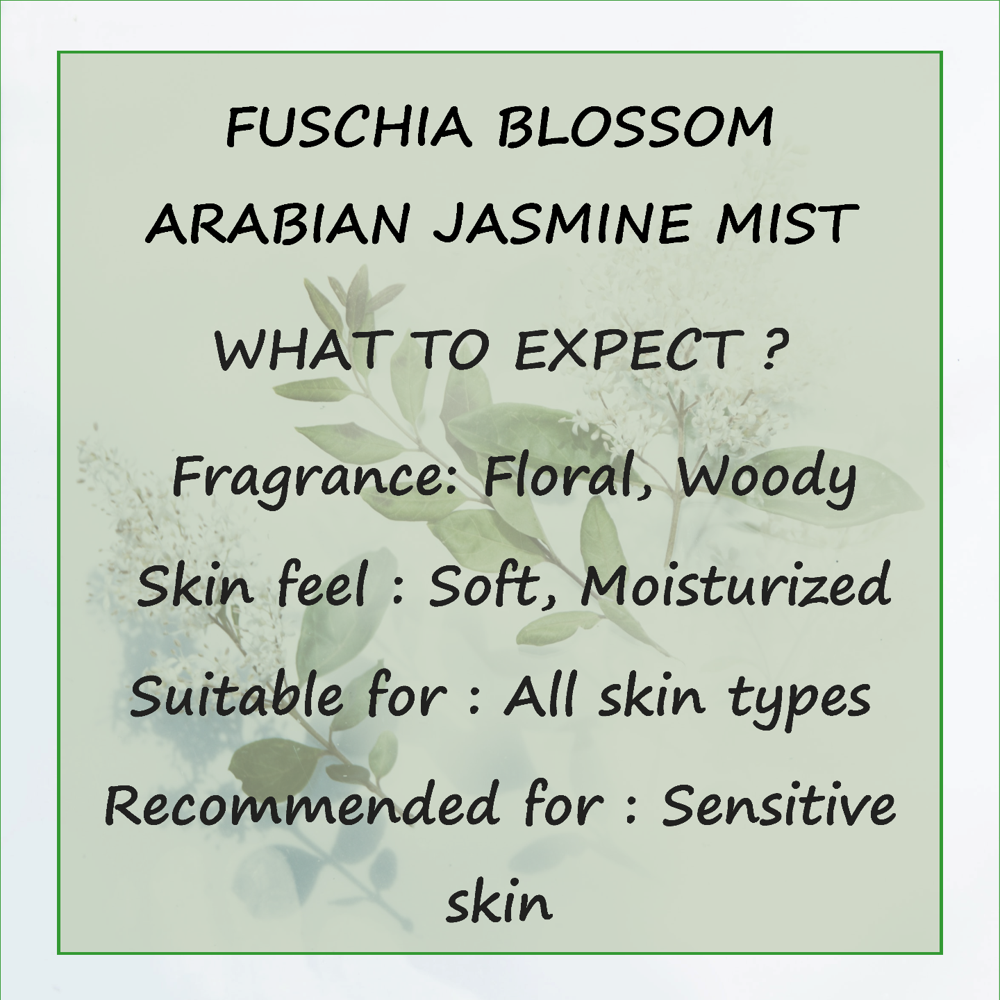 Fuschia Blossom Arabian Jasmine Face & Body Mist - 30 ml