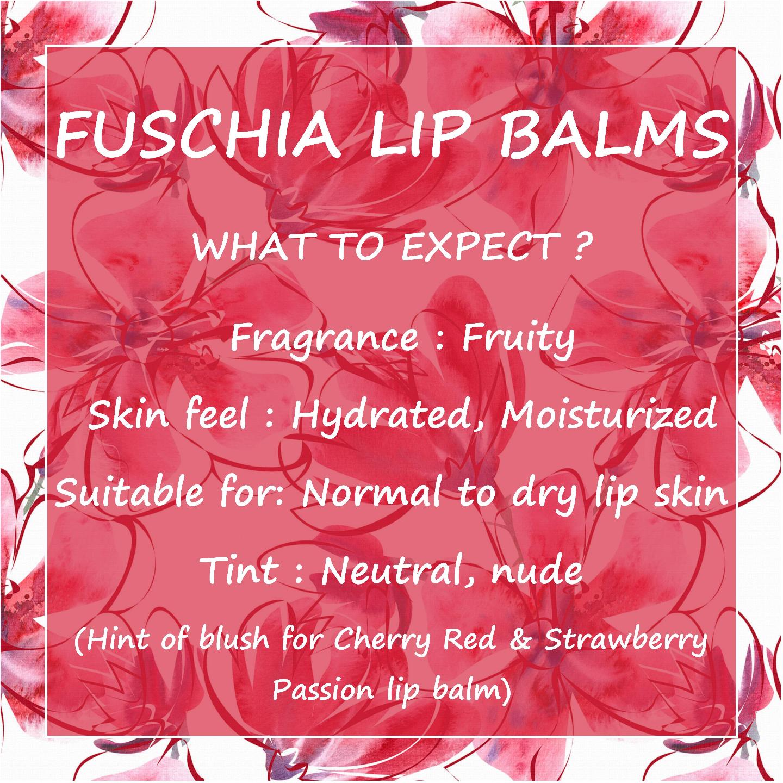 Fuschia  Tropical Alphonso Lip Balm