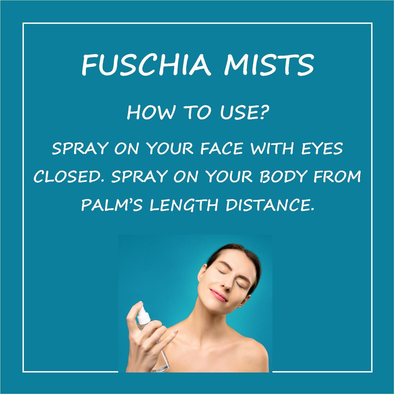 Fuschia Blossom Arabian Jasmine Face & Body Mist - 50 ml
