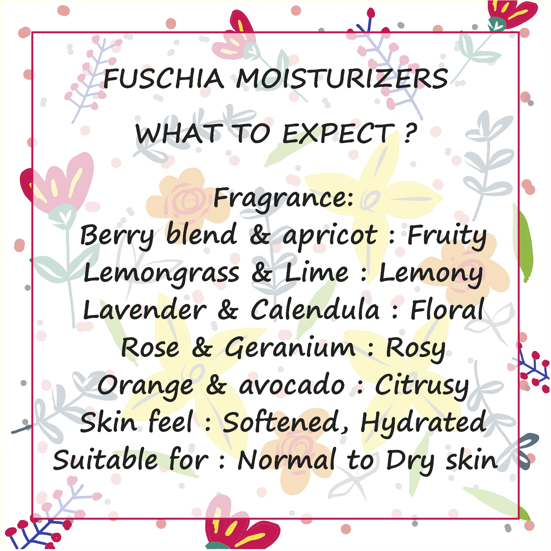 Fuschia Rose & Geranium Cleansing Intense Moisturizer - 100 ml