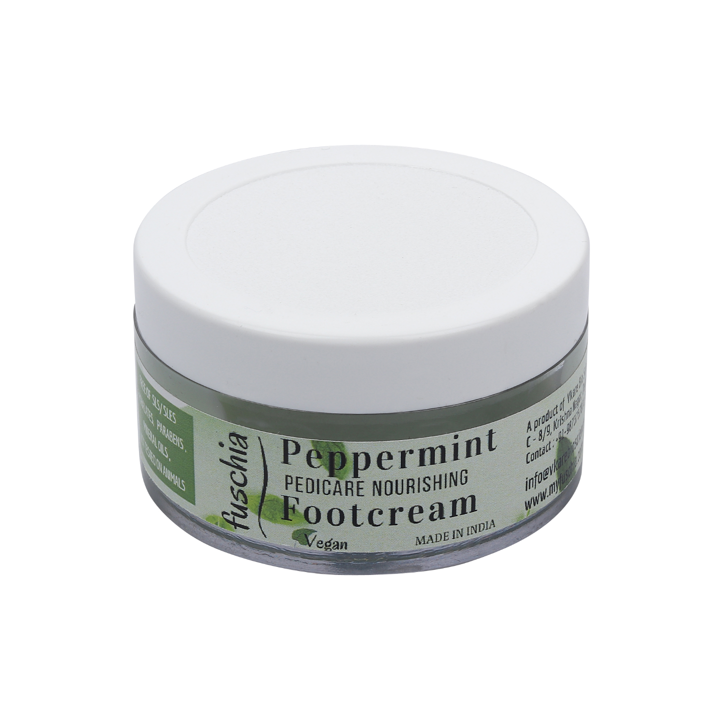 Fuschia - Peppermint Pedicare Nourishing Foot Cream-50g