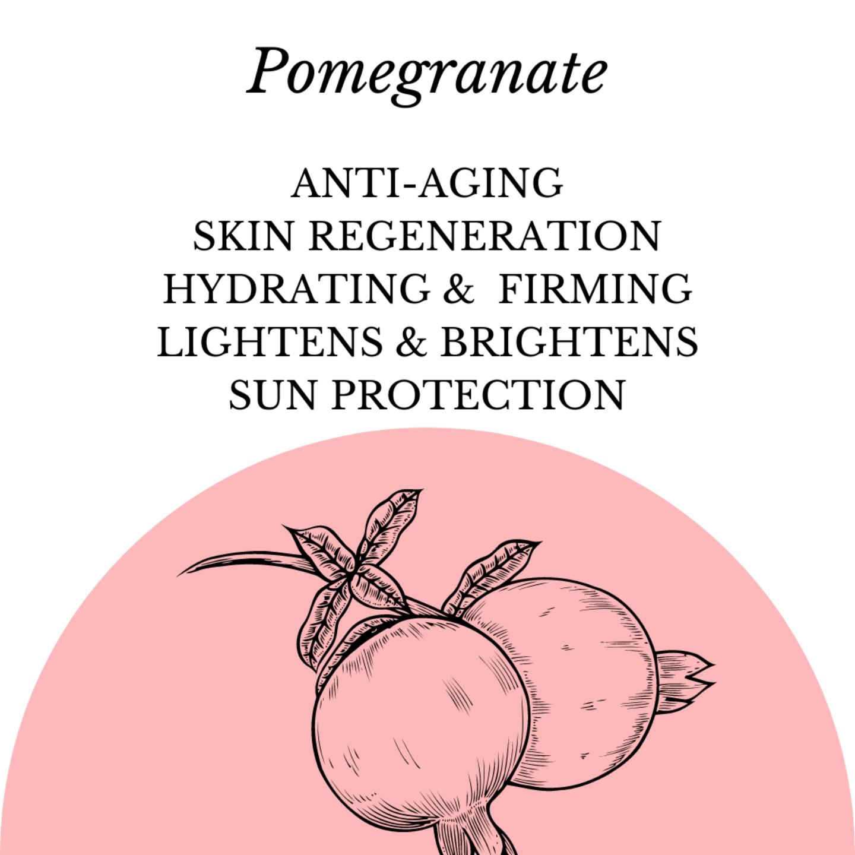 Fuschia - Pomegranate Natural Handmade Herbal Soap