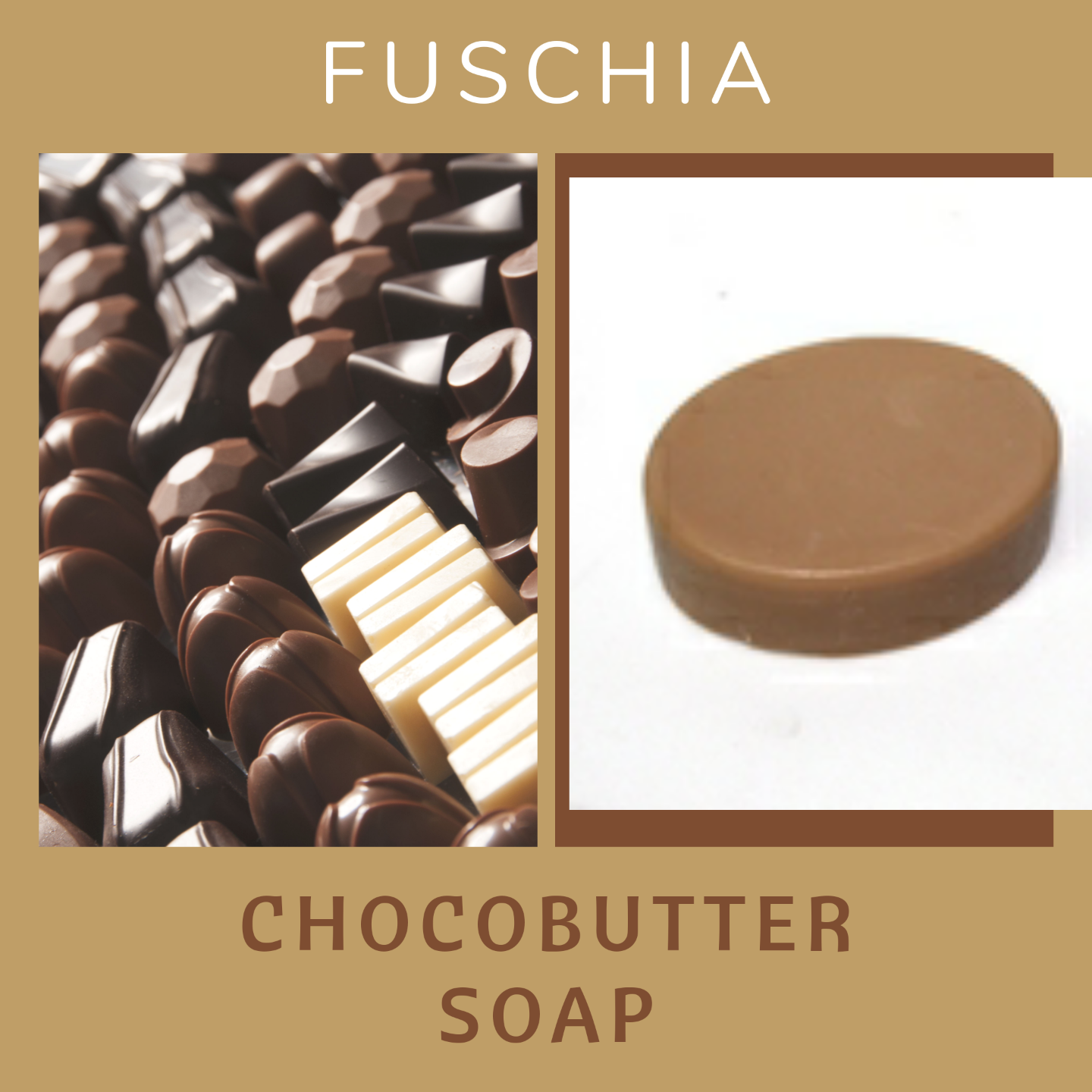 Fuschia - Chocobutter Natural Handmade Glycerine Soap