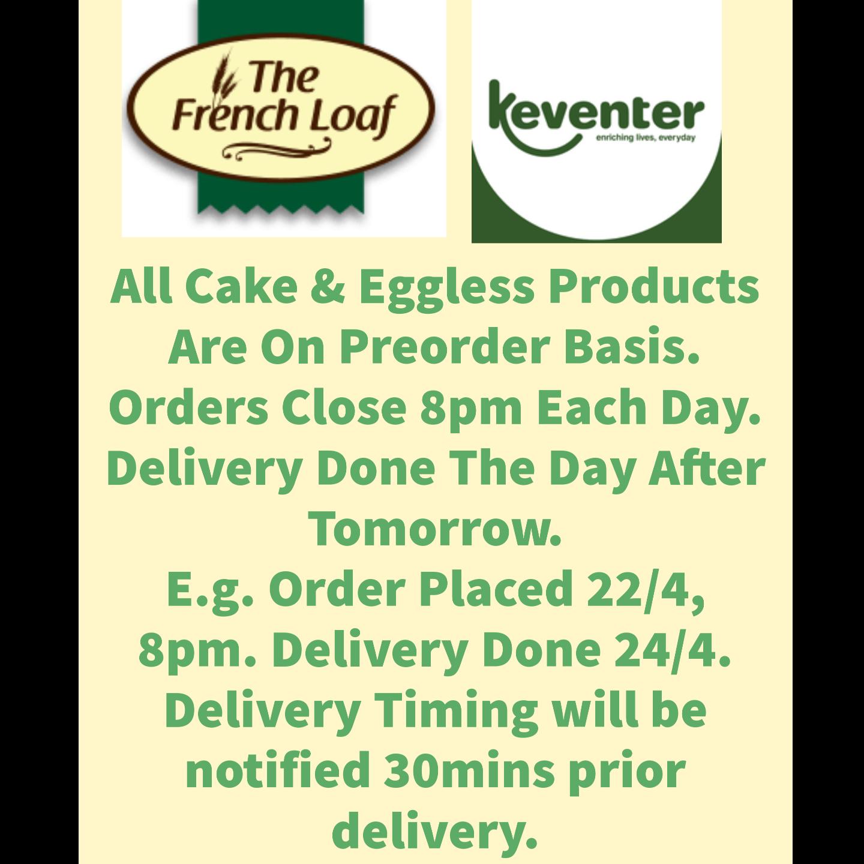 Dry Fruit Cake Eggless 300gms
