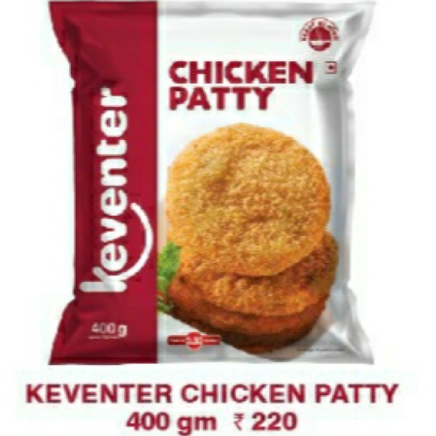 Chicken Patty 400gms