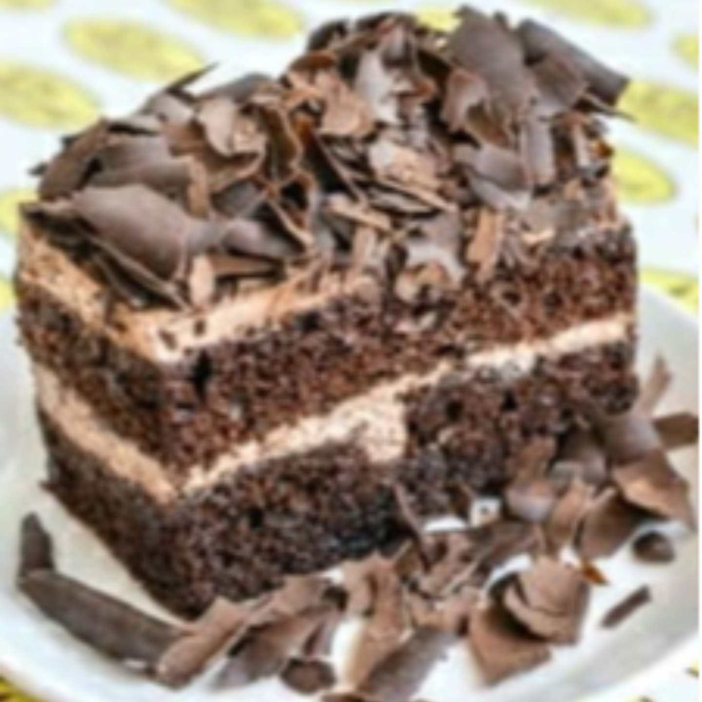 Chocolate Flakes Eggless Pastry