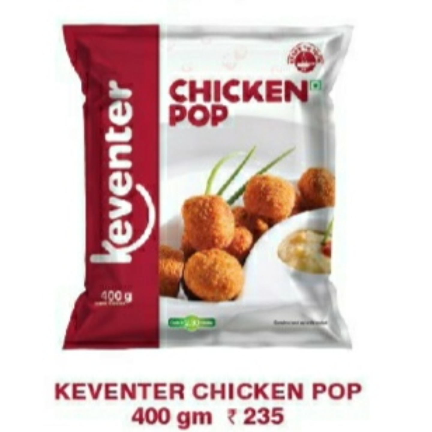 Chicken Pop Corn 400gms